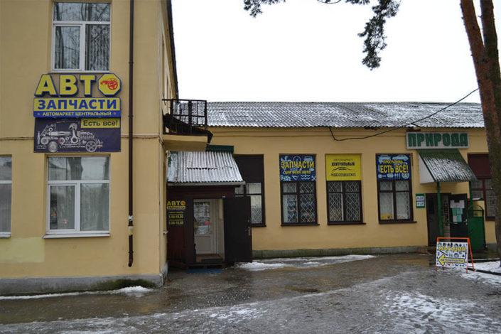Магазин автозапчастей в Борисове
